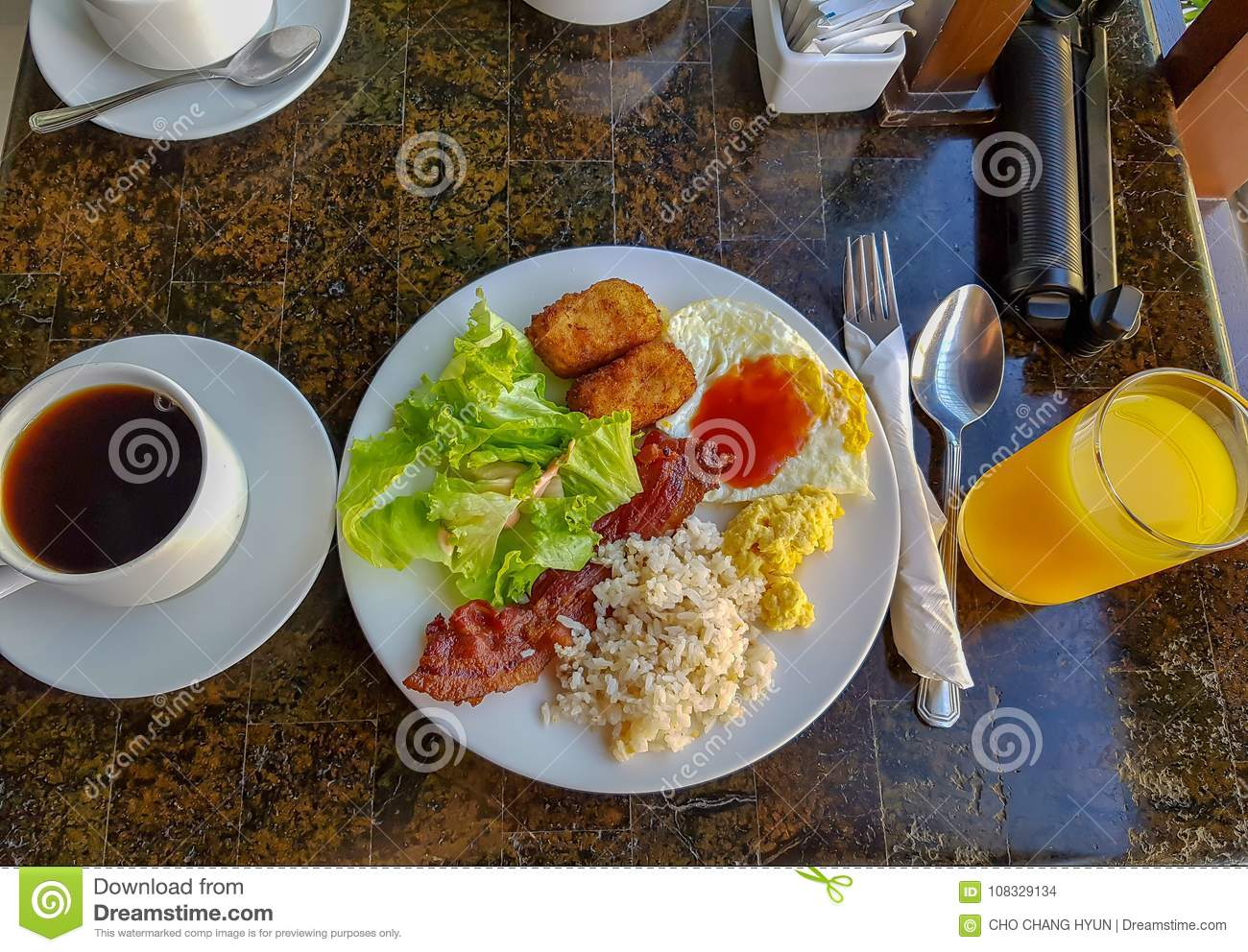 Tremendous Resort Buffet Breakfast Stock Photo Image Of Vegetable Interior Design Ideas Clesiryabchikinfo