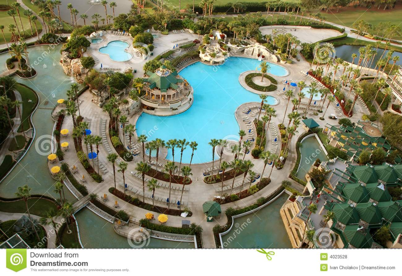 Resort Recreation Area Royalty Free Stock Photos Image