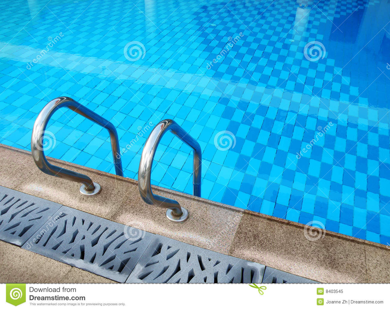 Resort Swimming Pool Design Stock Image Image 8403545