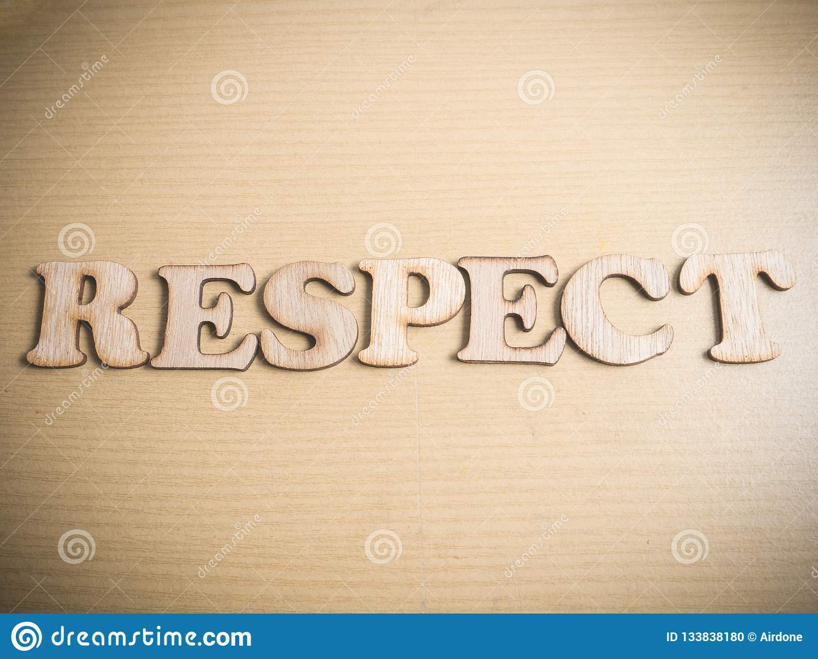 Respect Motivational Words Quotes Concept Stock Photo Image Of