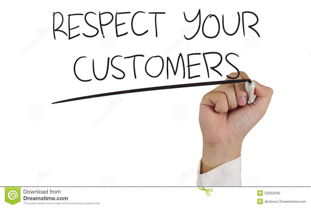 customer and respect Activia talks about the 7 best ways to show respect to your customers and how to maintain a good relationship with them.