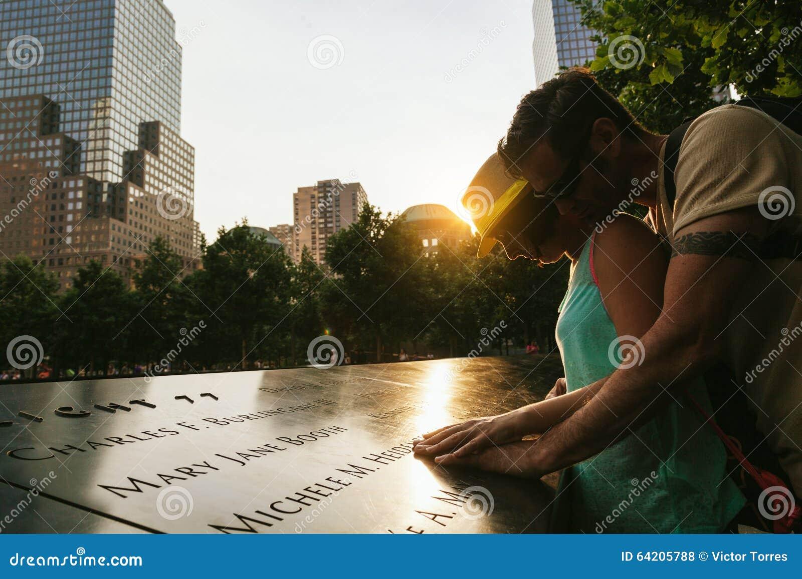 Respecto de la demostración de los pares a las víctimas en el monumento nacional del 11 de septiembre