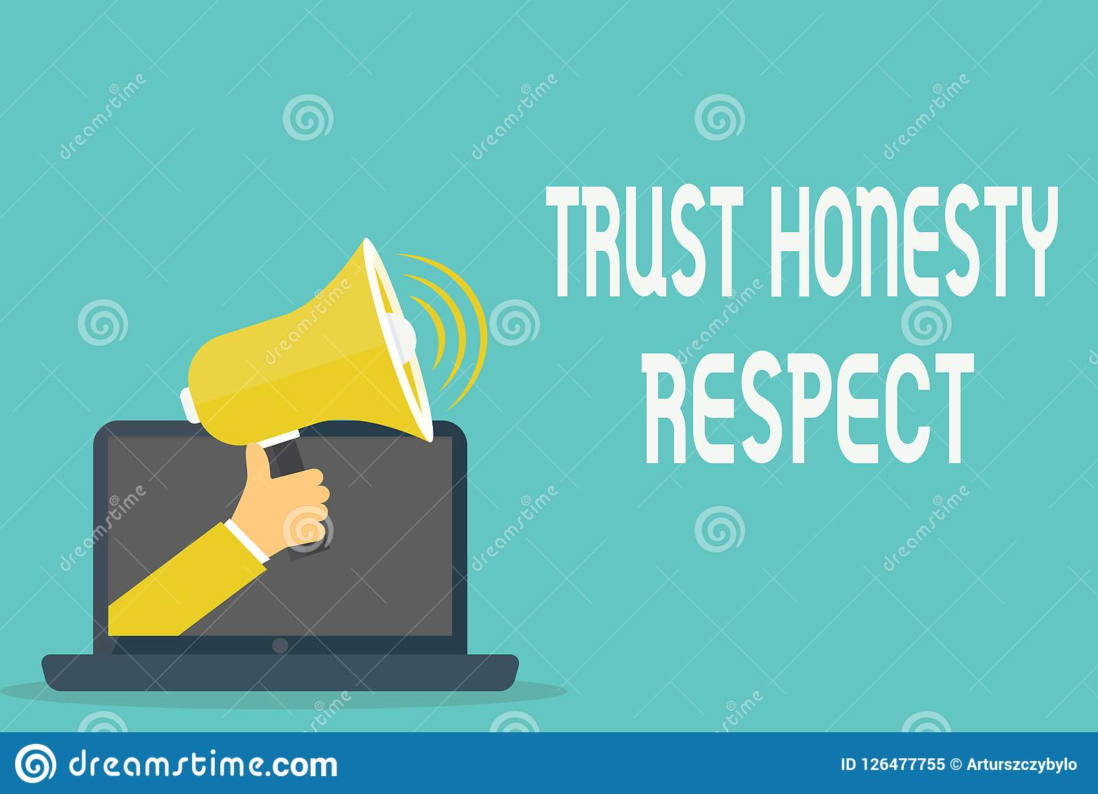 Respecto de la honradez de la confianza del texto de la escritura Concepto que significa rasgos respetables una faceta del buen c