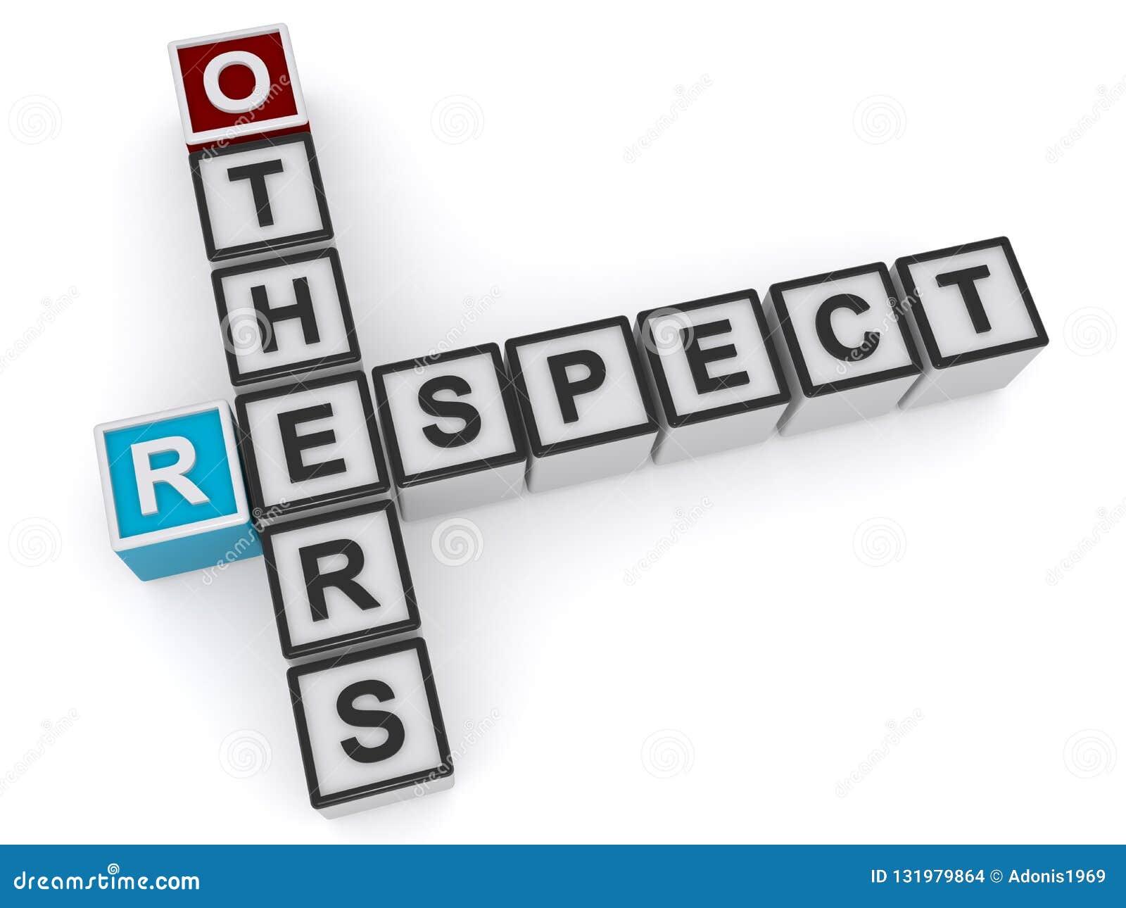 Respete otros los cubos