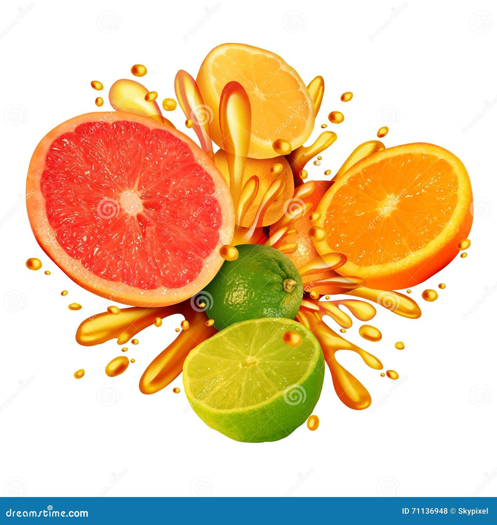 Respingo dos citrinos