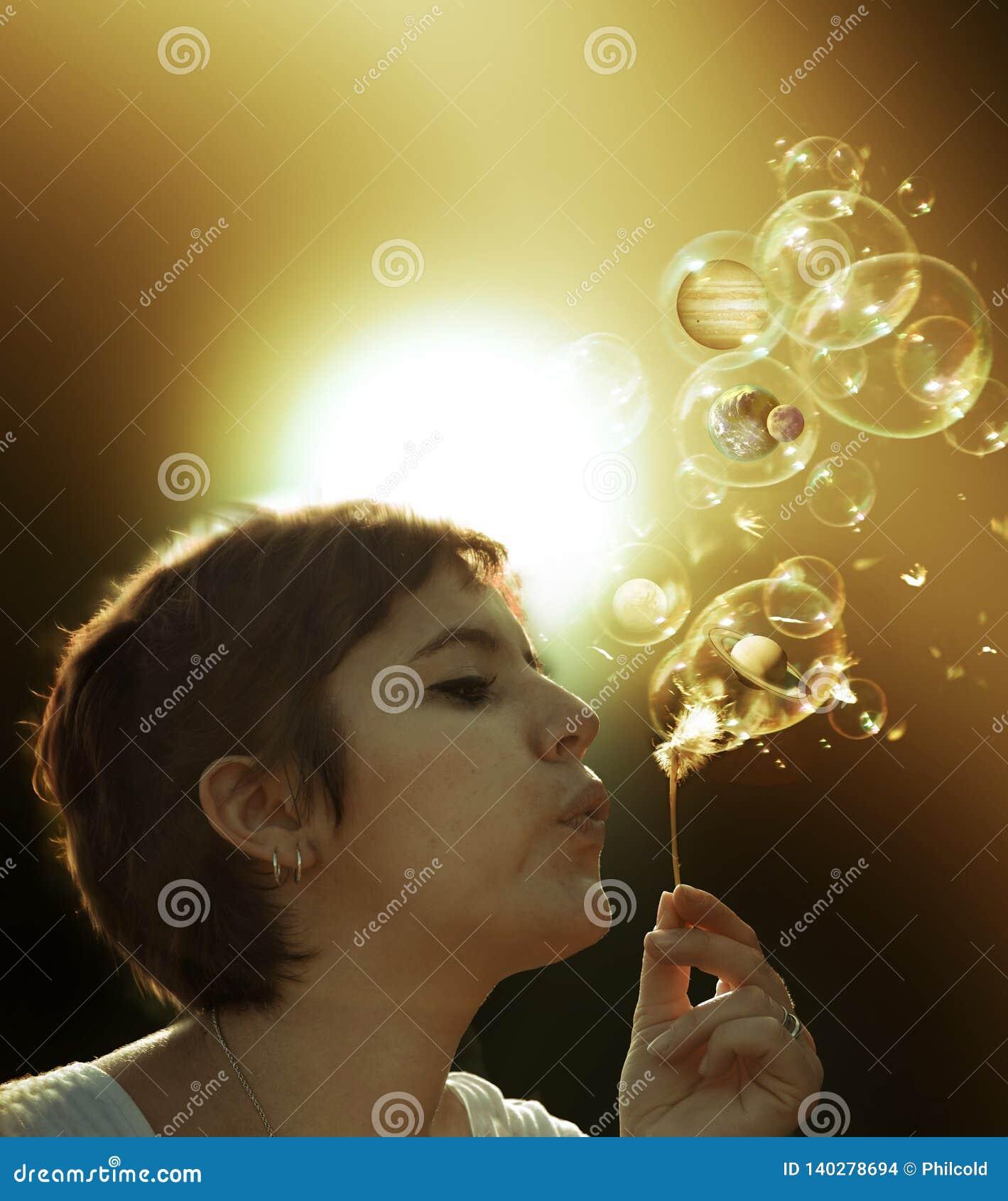 Respiração que cria a vida