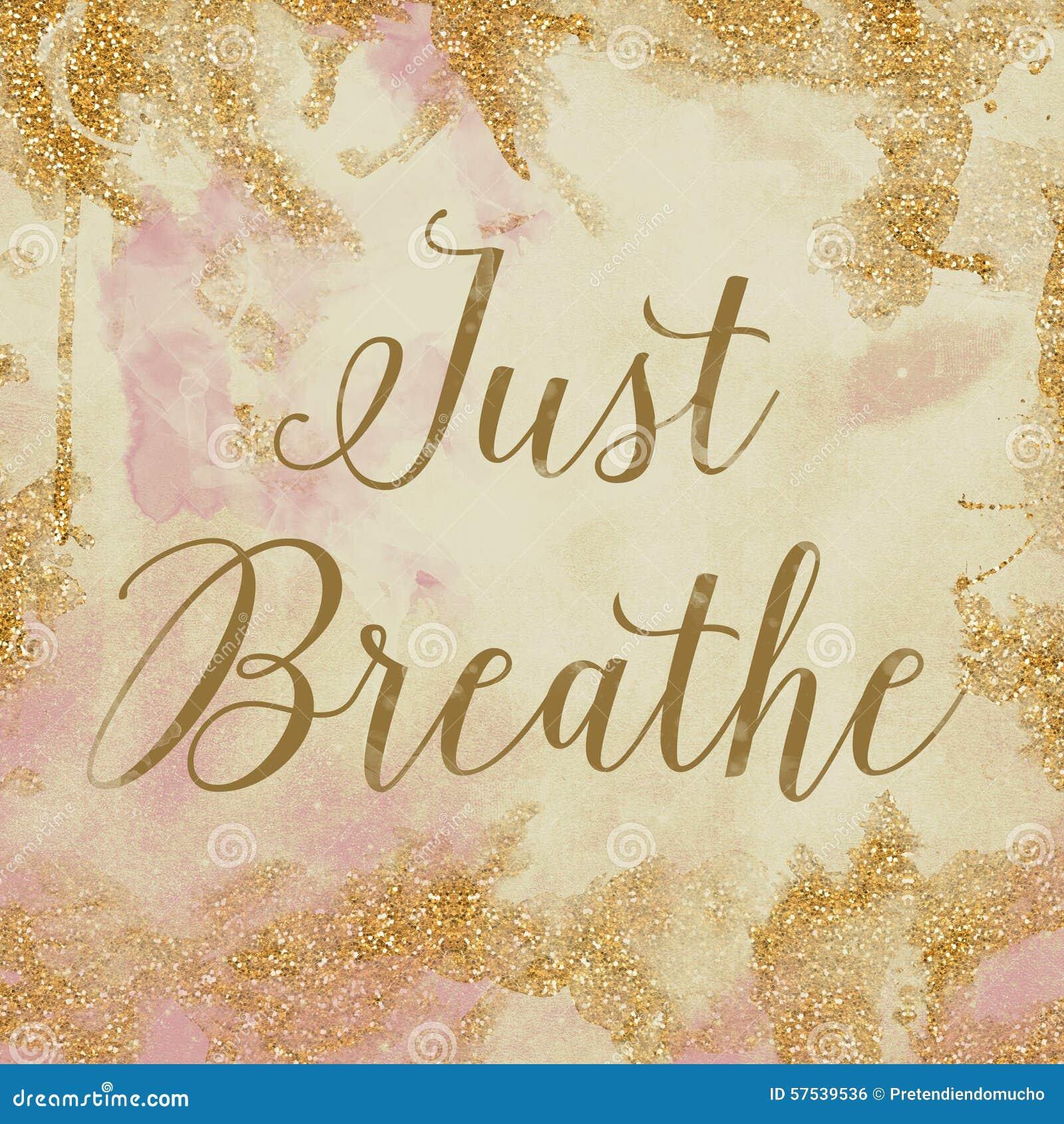 Respiri appena