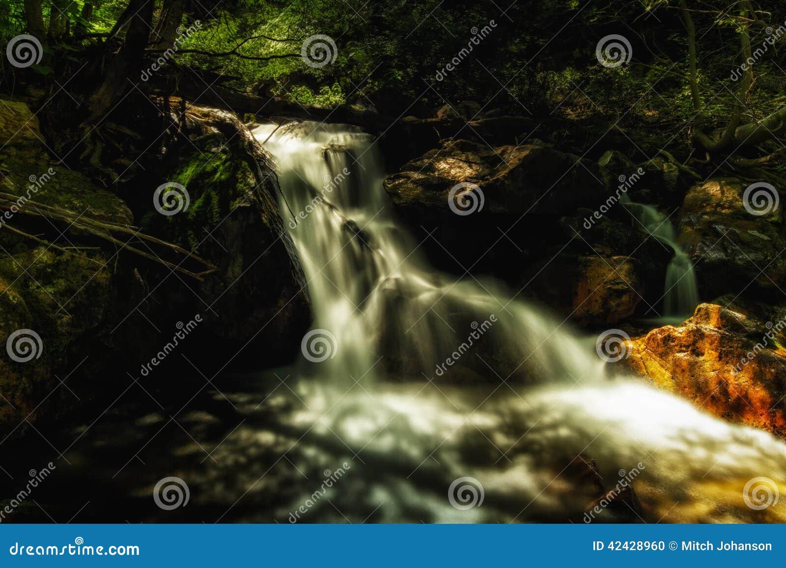 Resplandor de la cascada