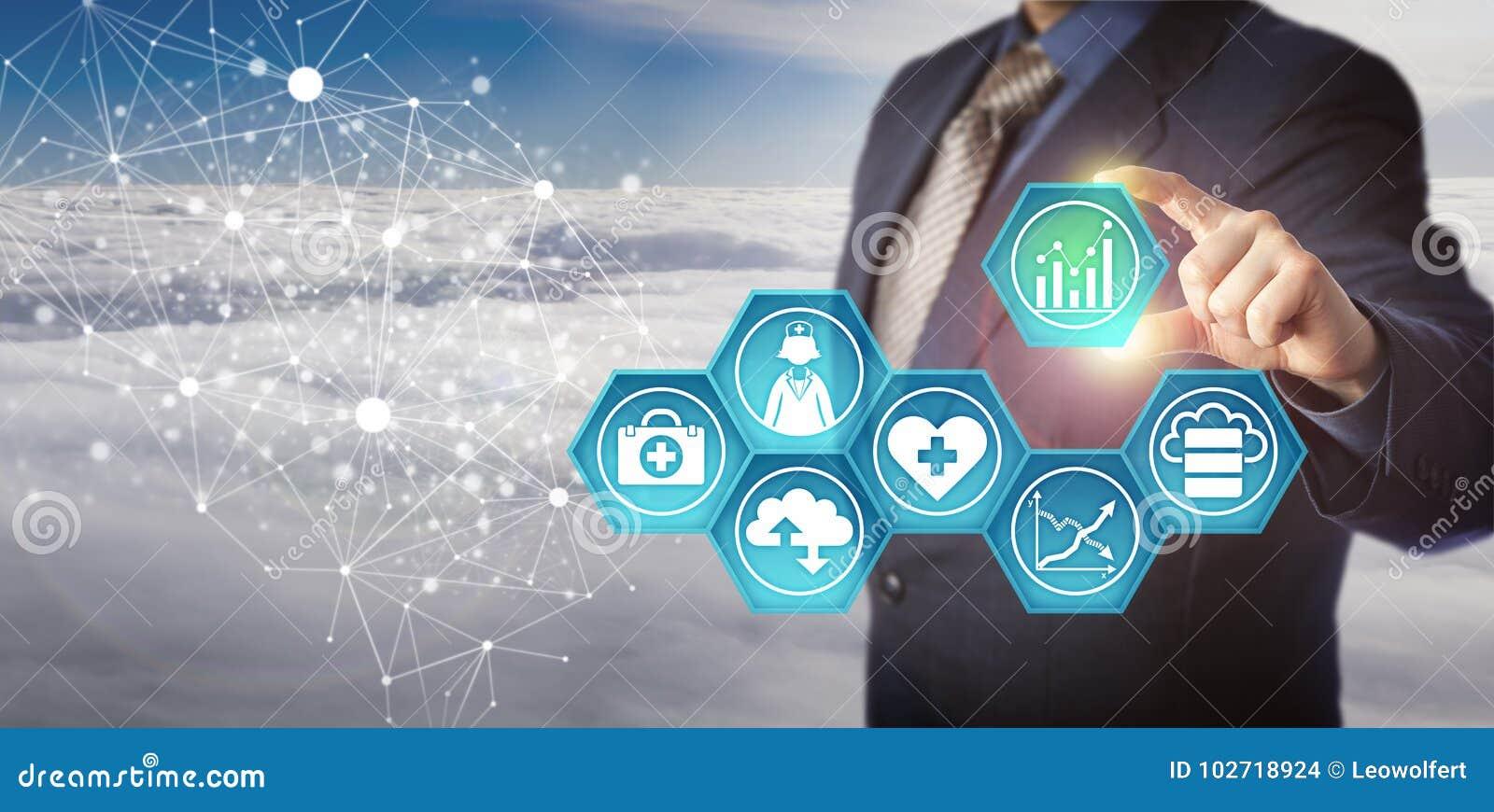 Responsabile Retrieving Medical Data in una rete