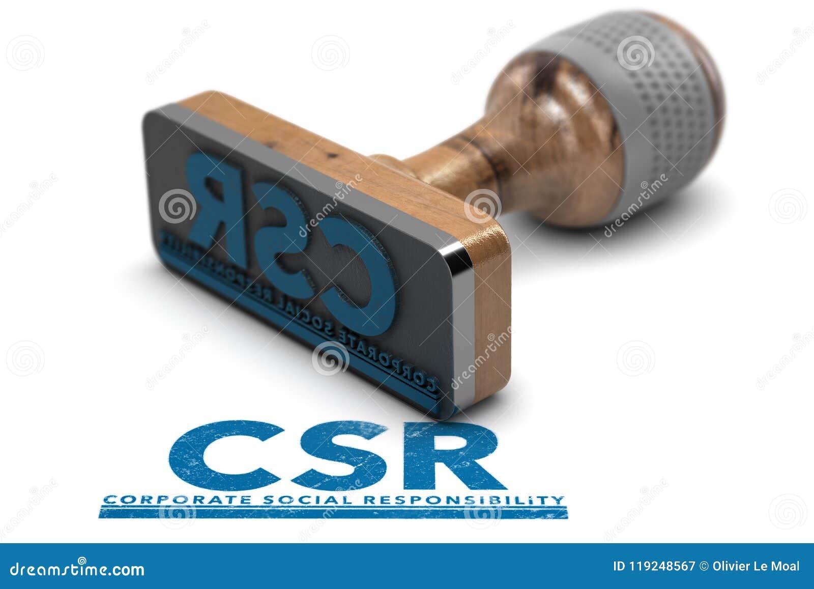 Responsabilidad social corporativa, CSR