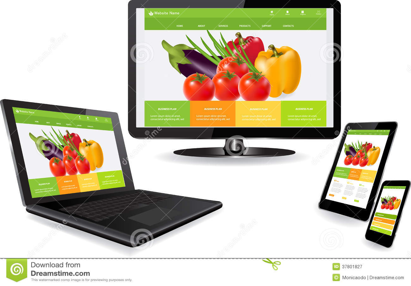 website design free download