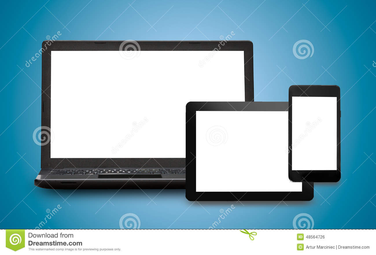 Responsive Web Design Stock Photo Image Of Background 48564726