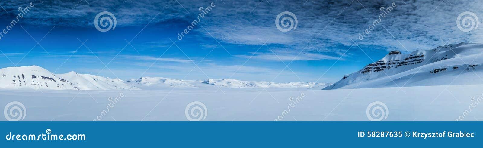 Ressort arctique dans le Spitzberg du sud