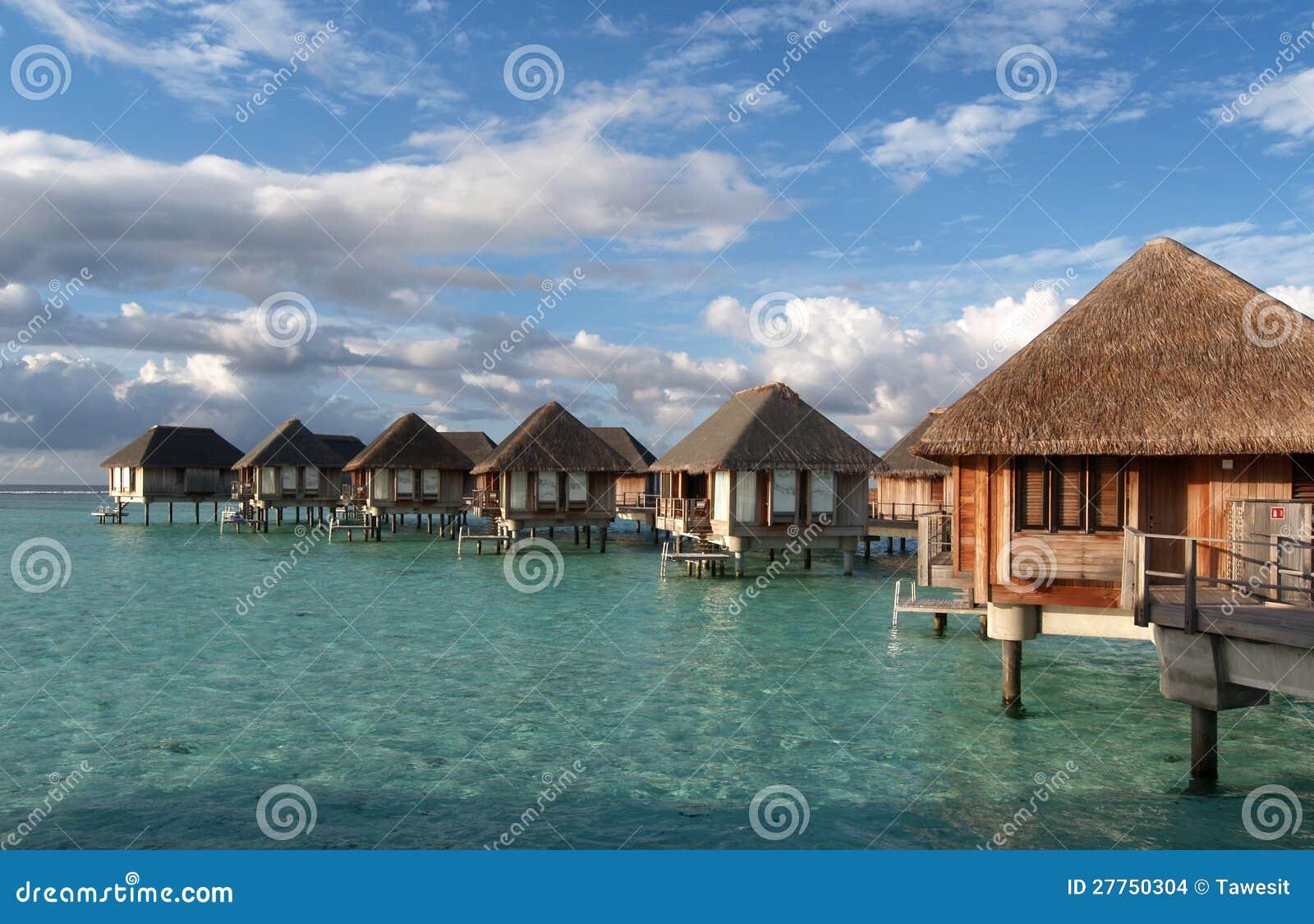Ressource de maison en mer
