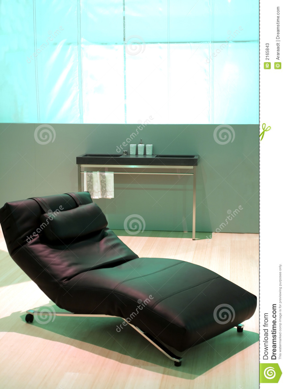 Rest Chair Stock Image Image Of Metal Light Design