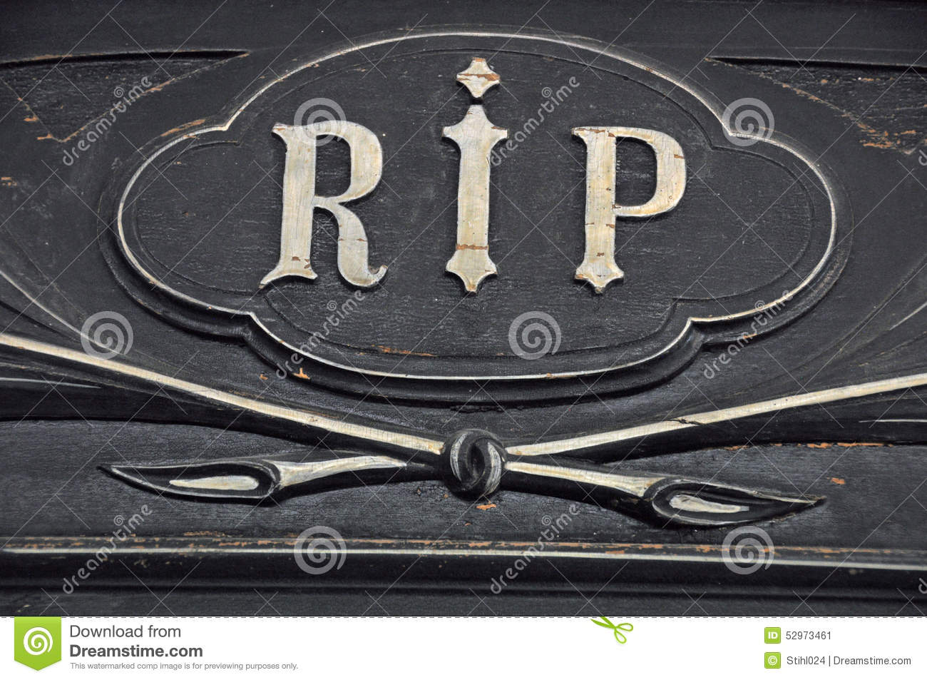 Rest in peace stock image image of death carving oval 52973461 rest in peace jeuxipadfo Gallery