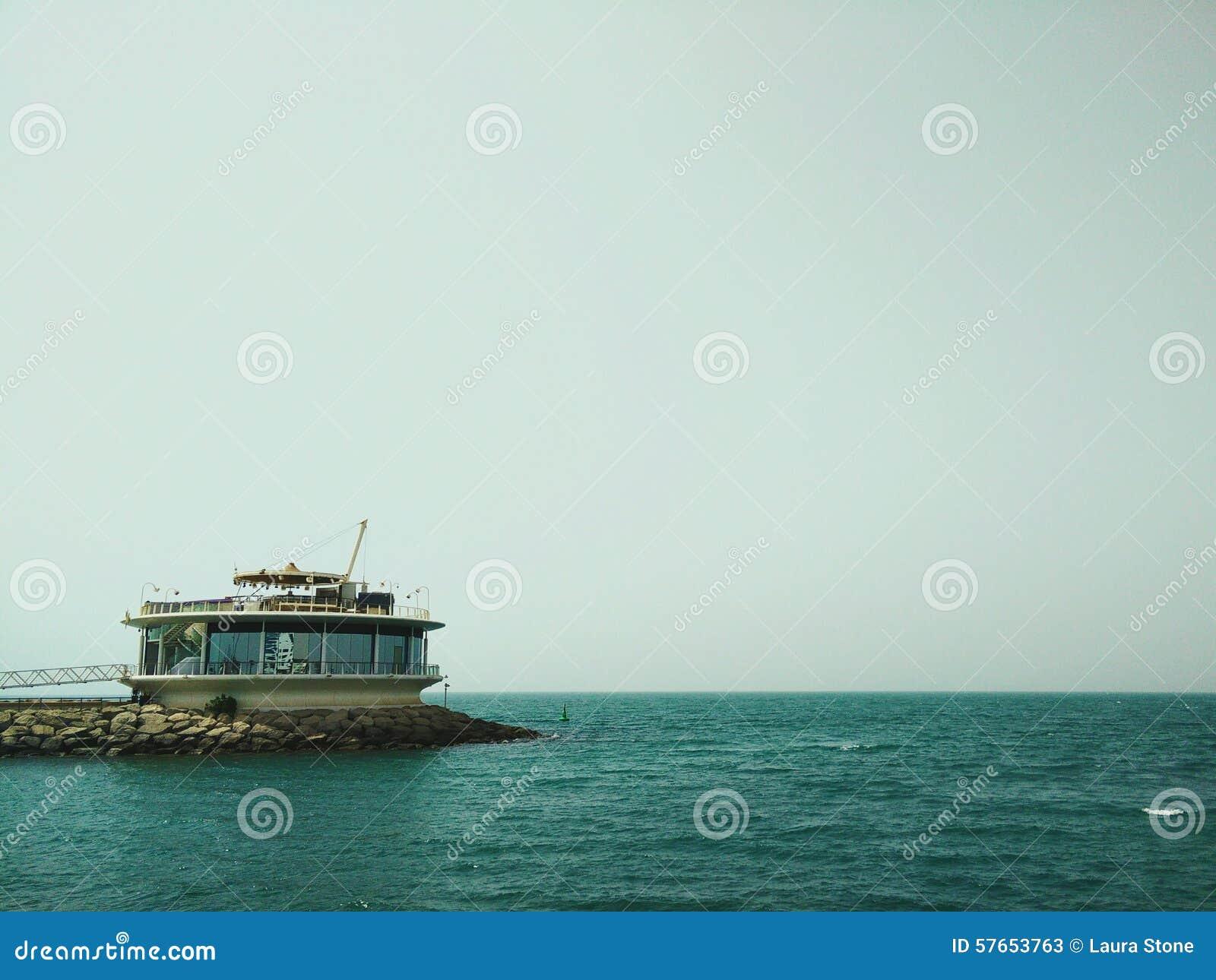 Restauracja przy morzem
