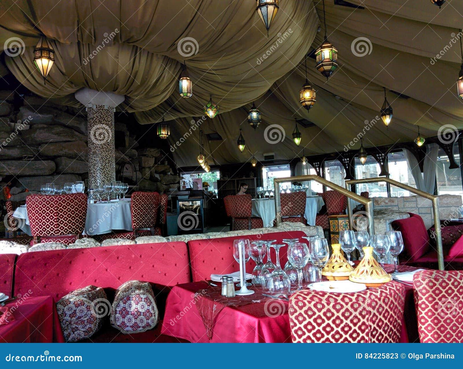 Restauracja w marokańczyka stylu