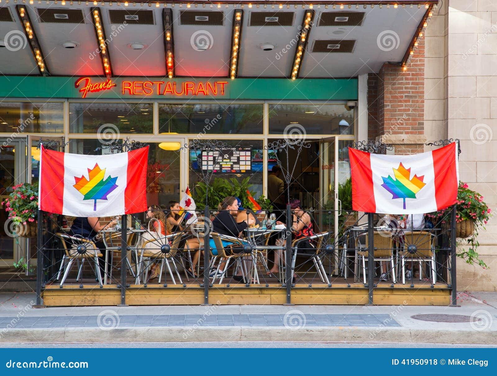 Restauracje Pokazuje poparcie dla Światowej dumy