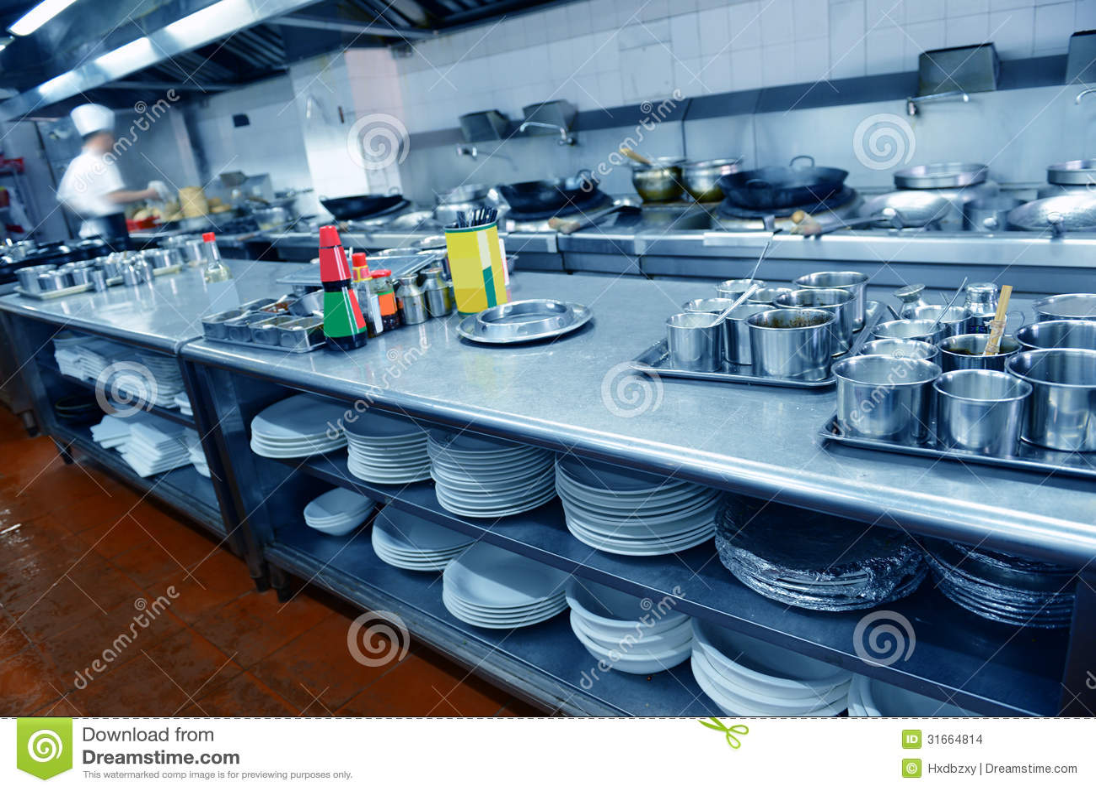 Restauracyjna kuchnia