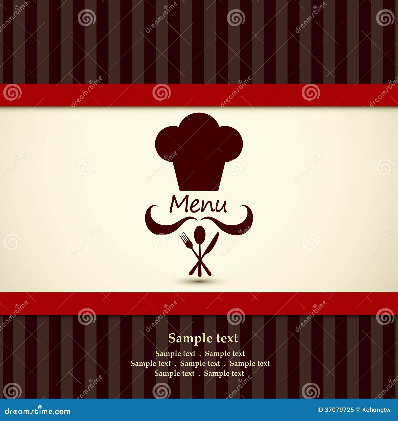 Download Restauracyjny menu ilustracja wektor. Ilustracja złożonej z dinner - 37079725