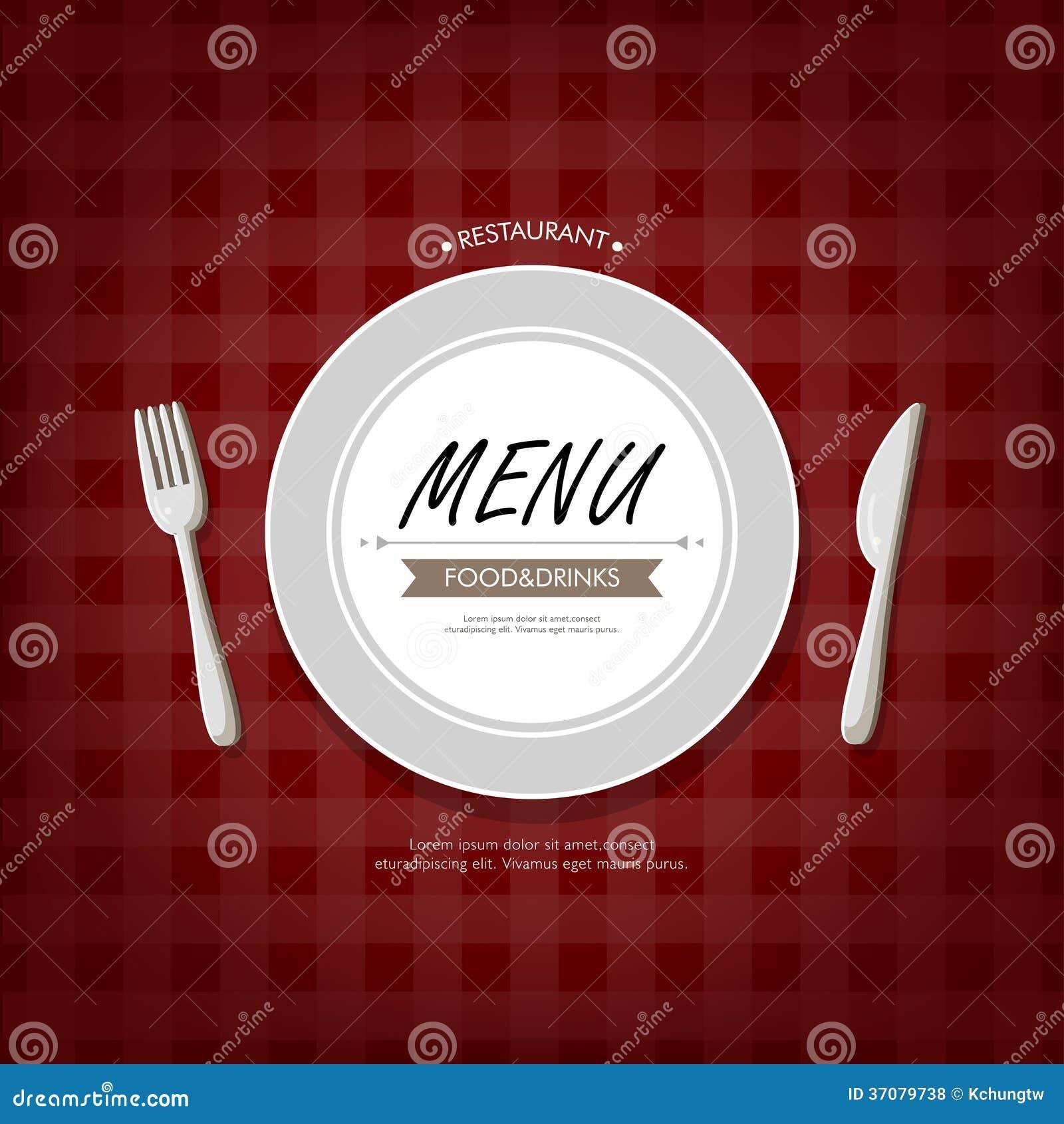 Download Restauracyjny menu ilustracja wektor. Ilustracja złożonej z gastronomy - 37079738