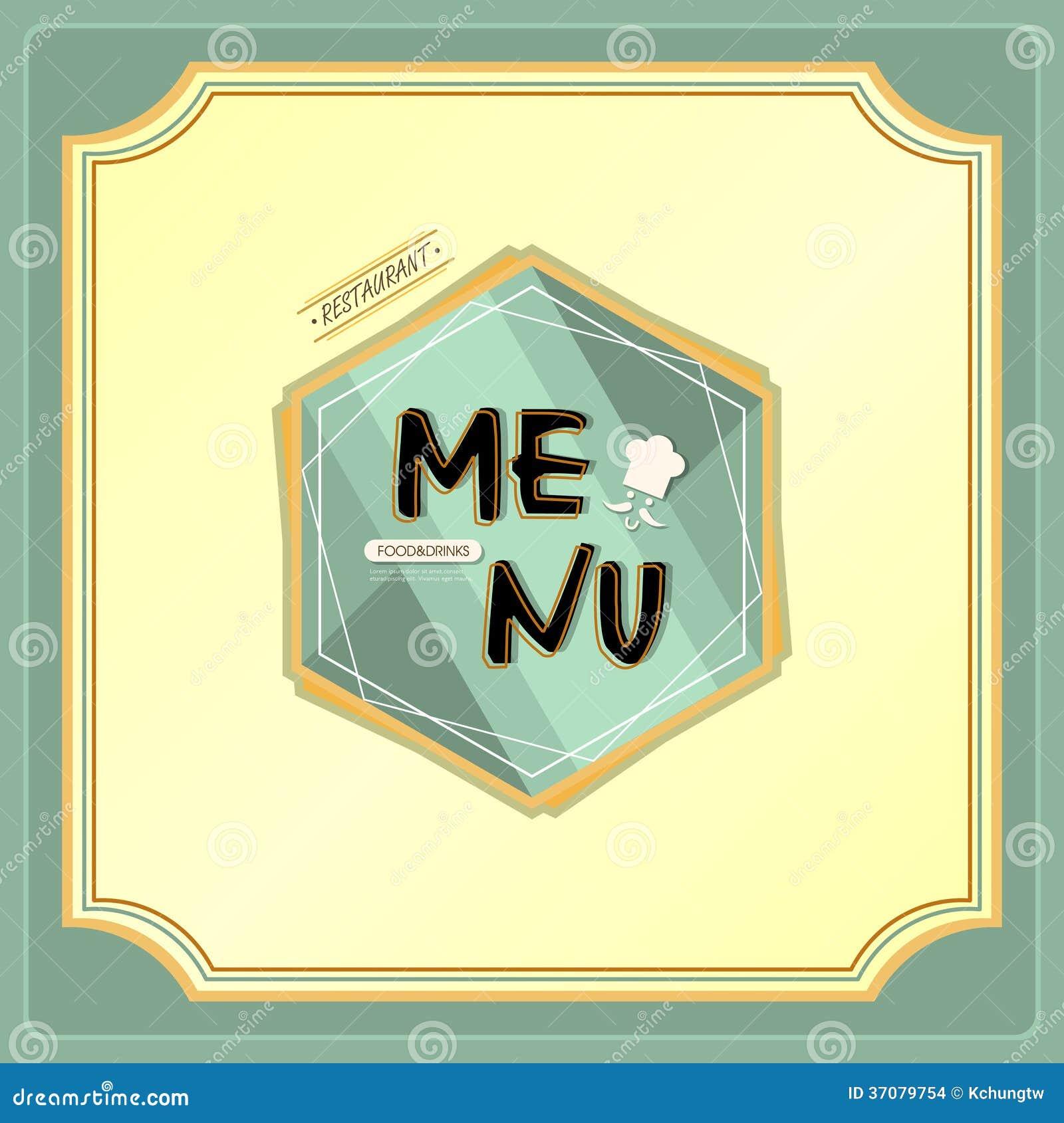 Download Restauracyjny menu ilustracja wektor. Ilustracja złożonej z pomysł - 37079754