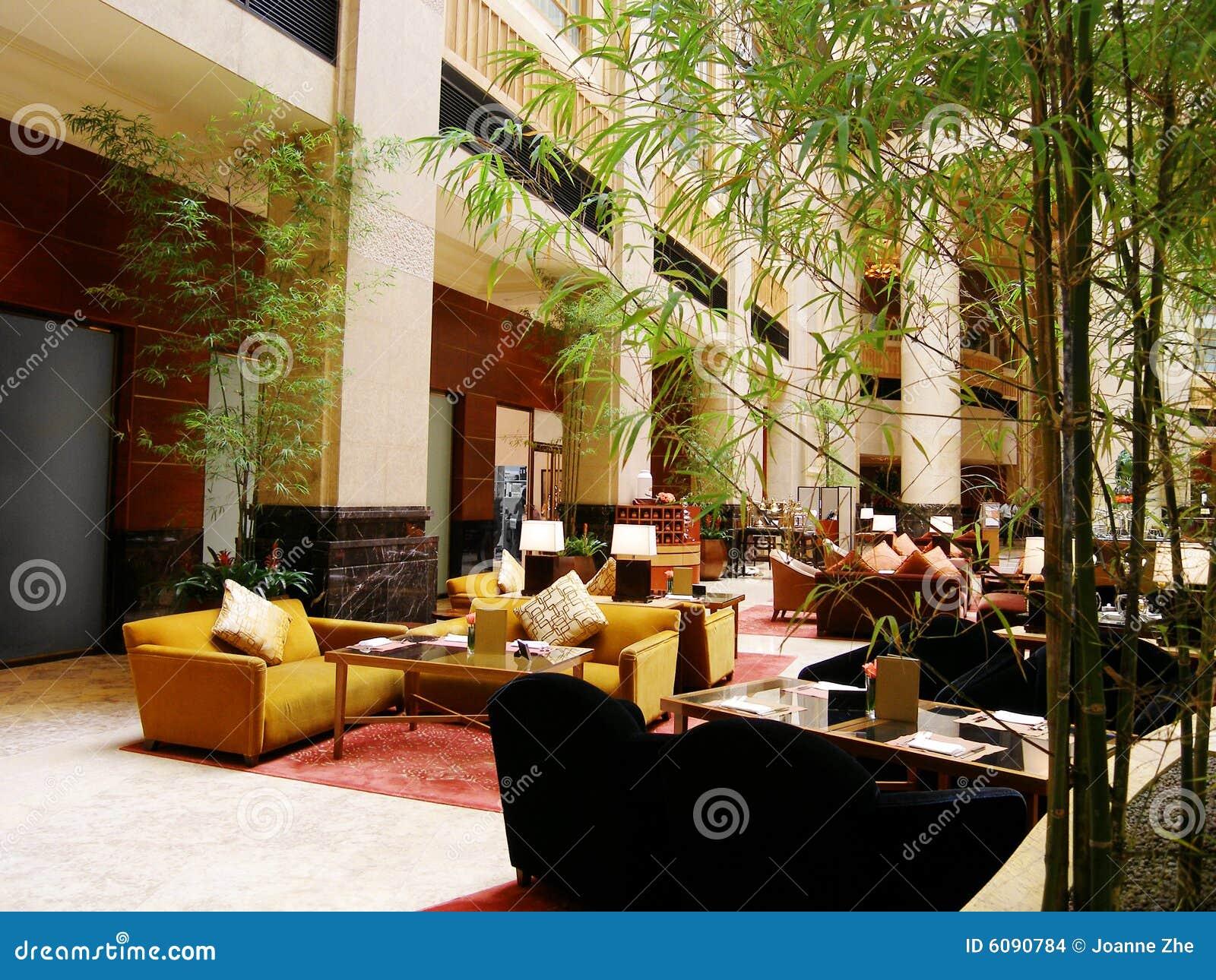 Restaurang för hotelllobbylyx