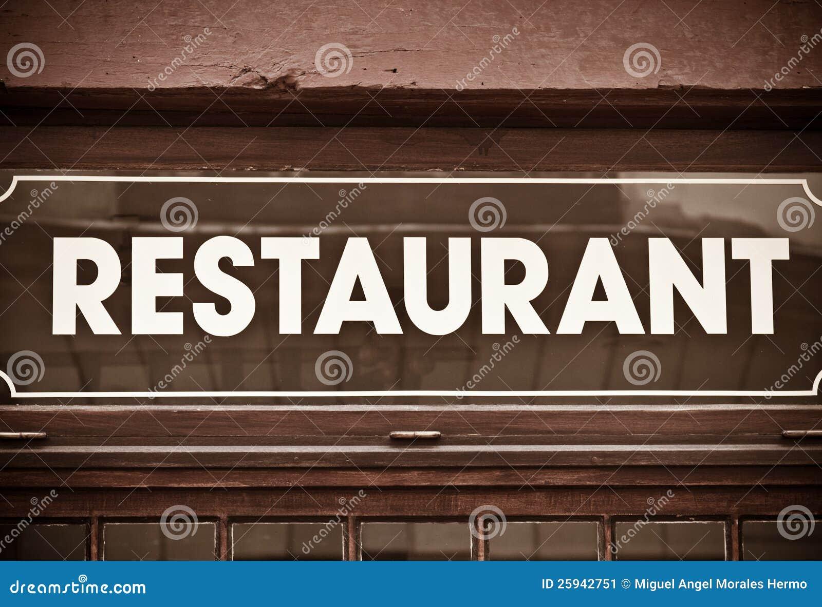 Restaurant Stock Image - Image: 25942751