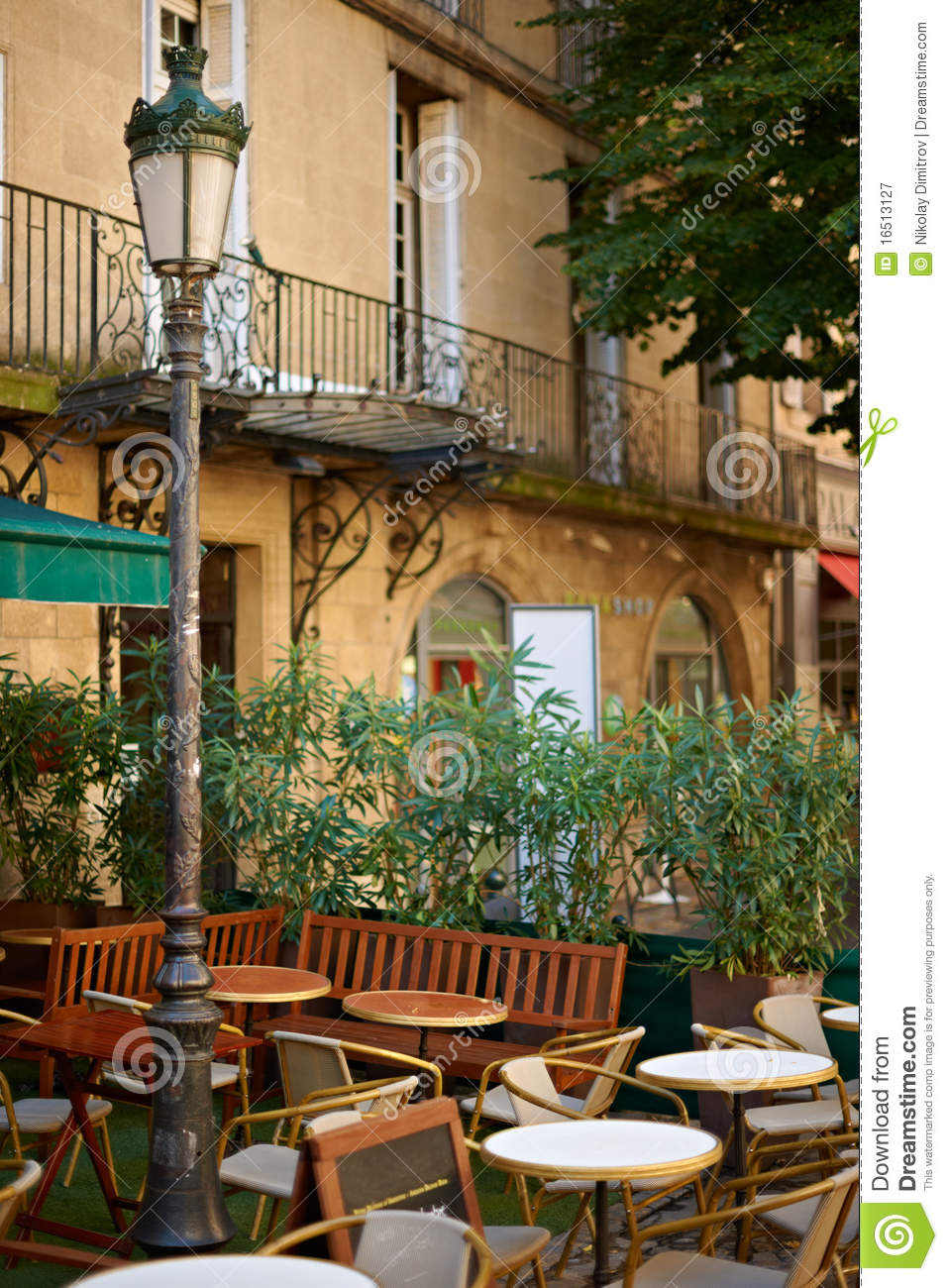 restaurant in aix en provence royalty free stock photography image 16513127. Black Bedroom Furniture Sets. Home Design Ideas