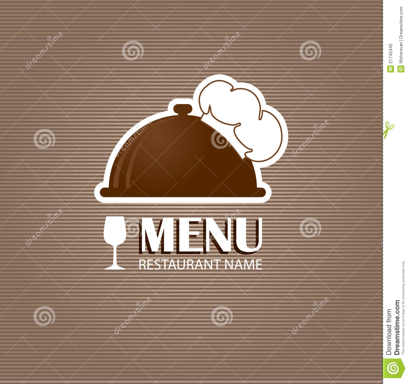 Restaurant And Bar Menu List. Stock Photo - Image: 21742440