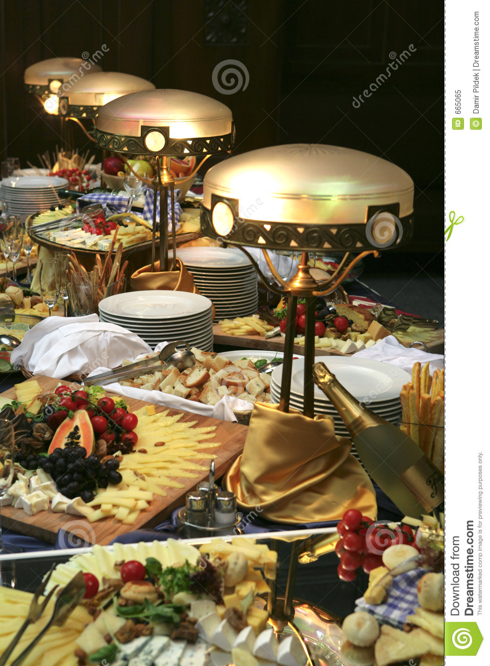 Restaurant Buffet Stock Image  Image Of Hotel  Appetite