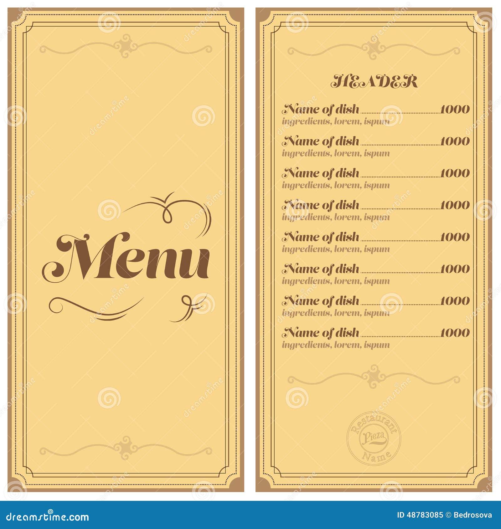 Как правильно создать меню ресторана | Ресторанные секреты | 1390x1300