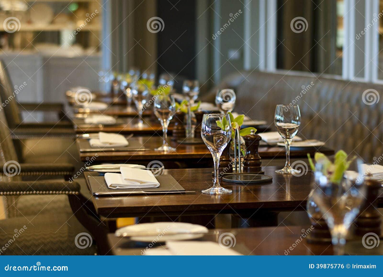 Restaurant confortable