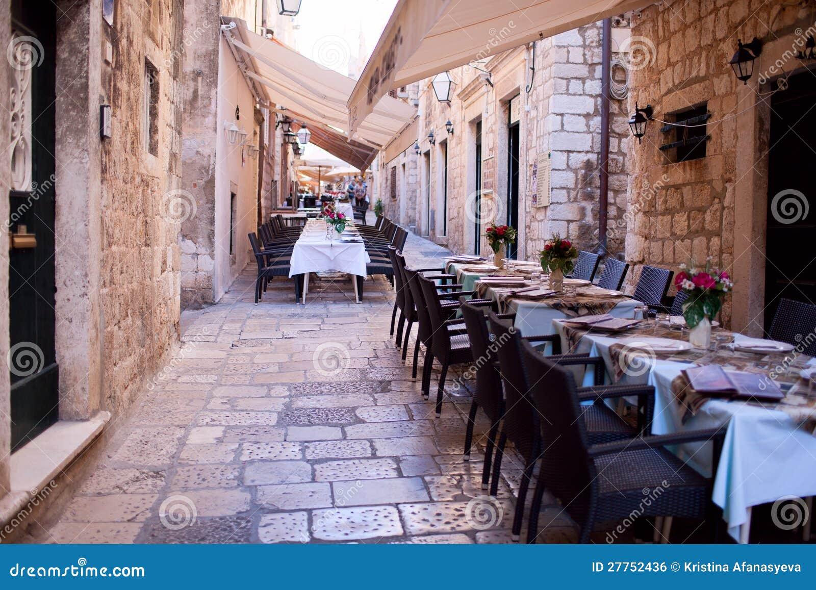Restaurant de rue