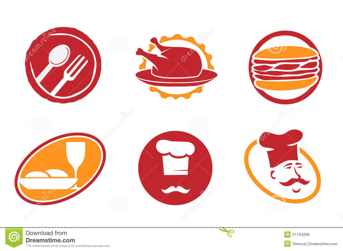 restaurant symbols clip art - photo #37