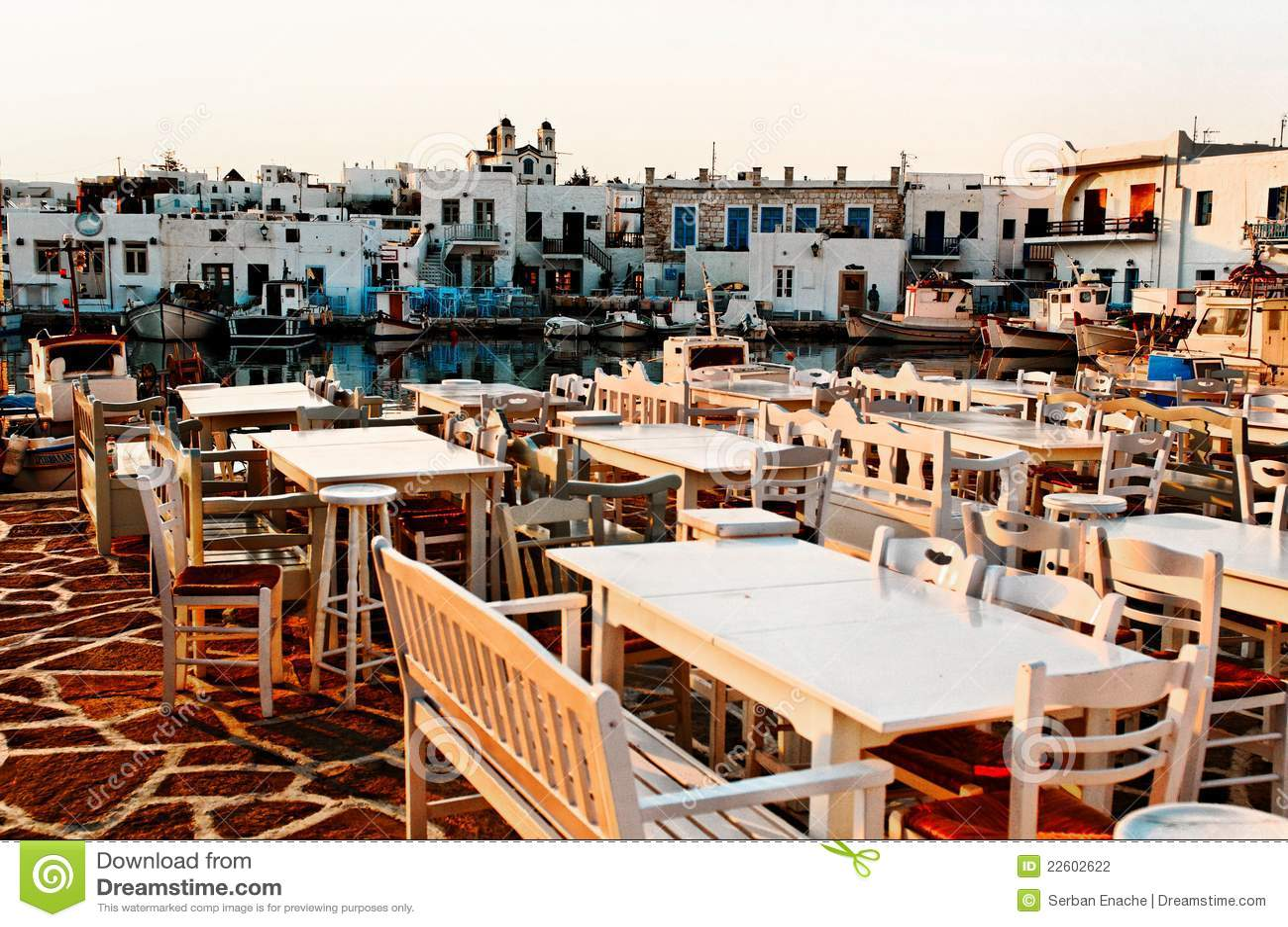 Restaurant en Grèce
