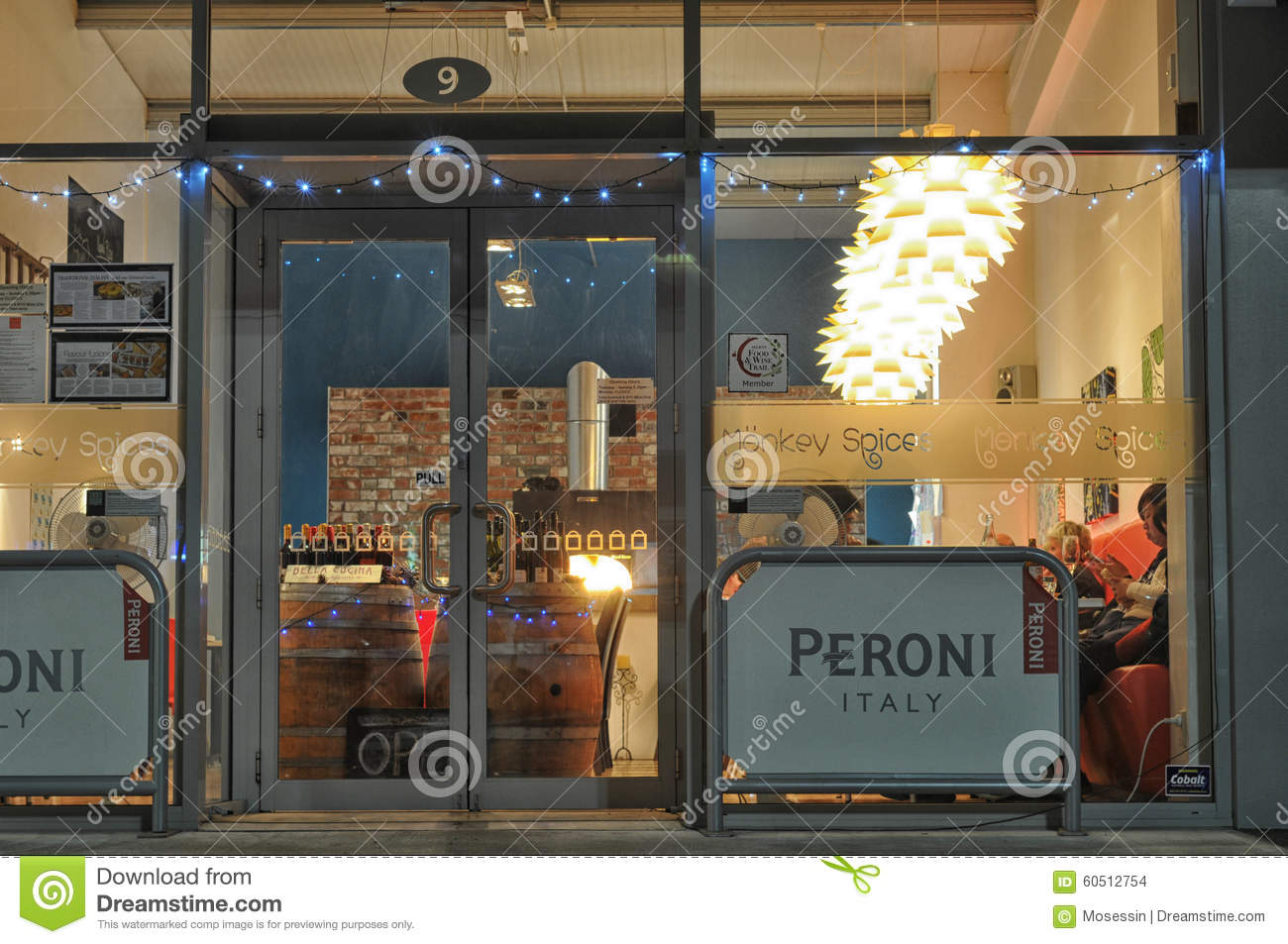 Restaurant Exterior Design Editorial Stock ImageImage 60512754