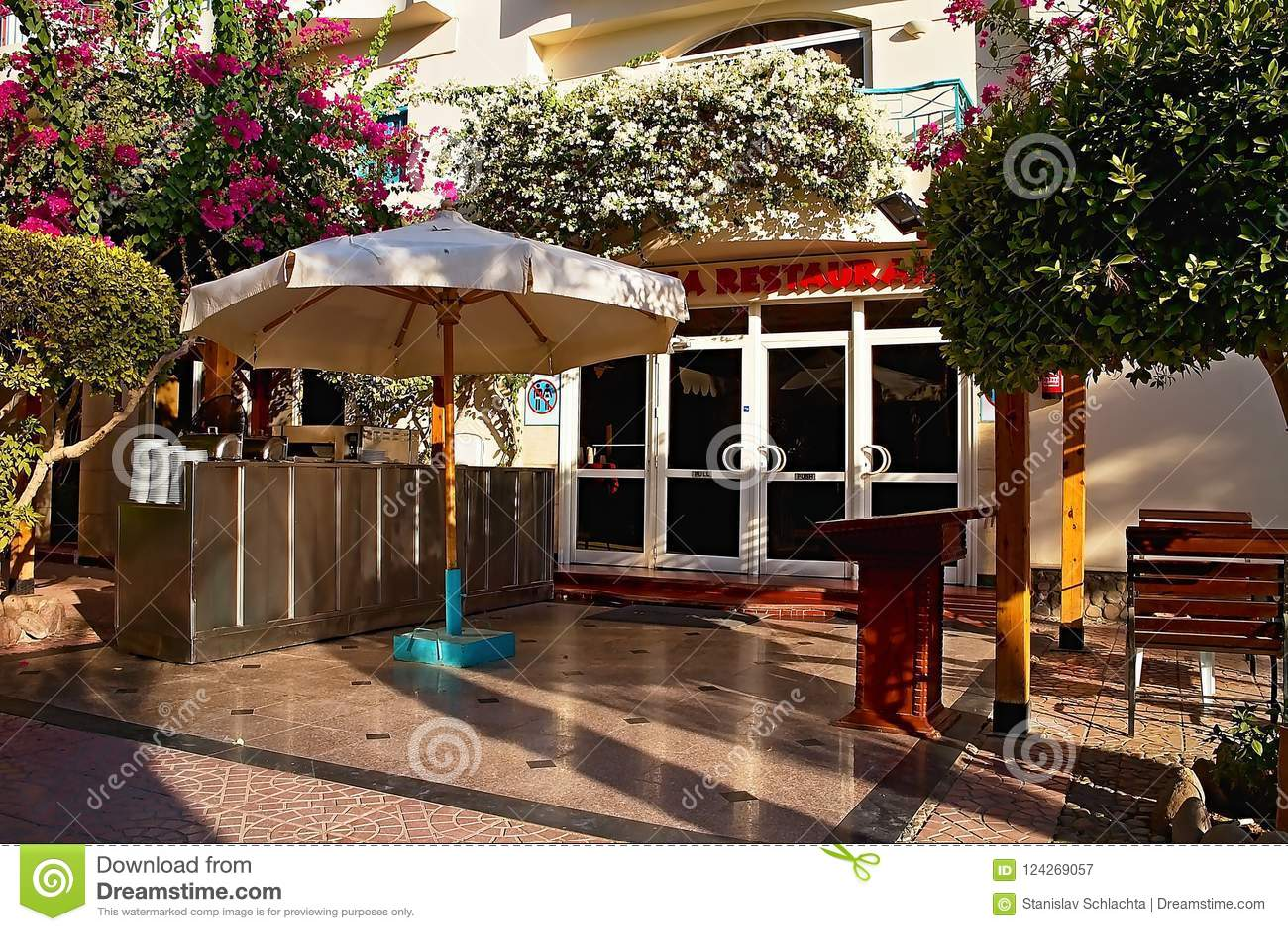 Restaurant für Gäste bei Bella Vista Resort in Hurghada