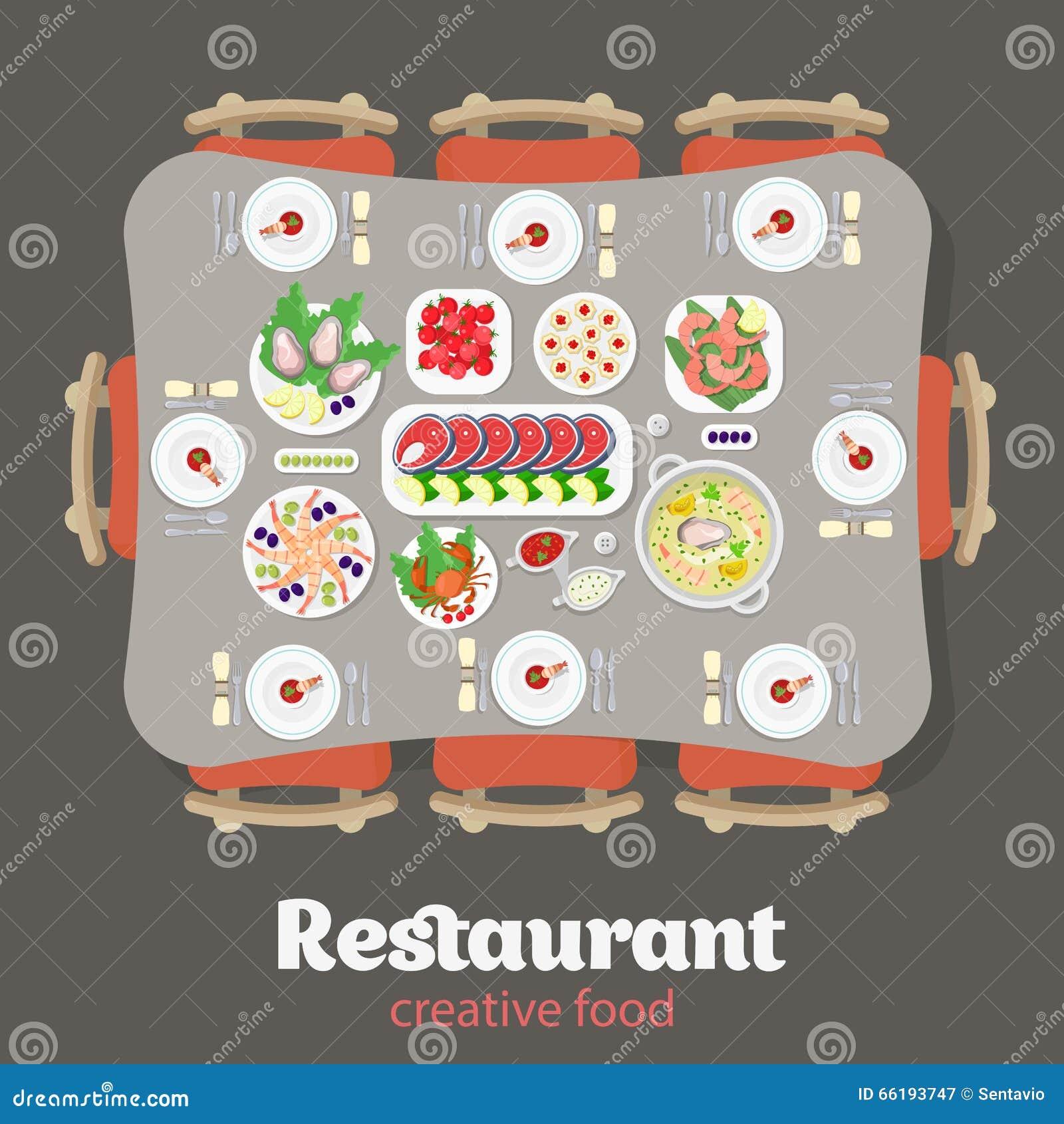 Cartoon restaurant free vector graphic download - Royalty Free Vector