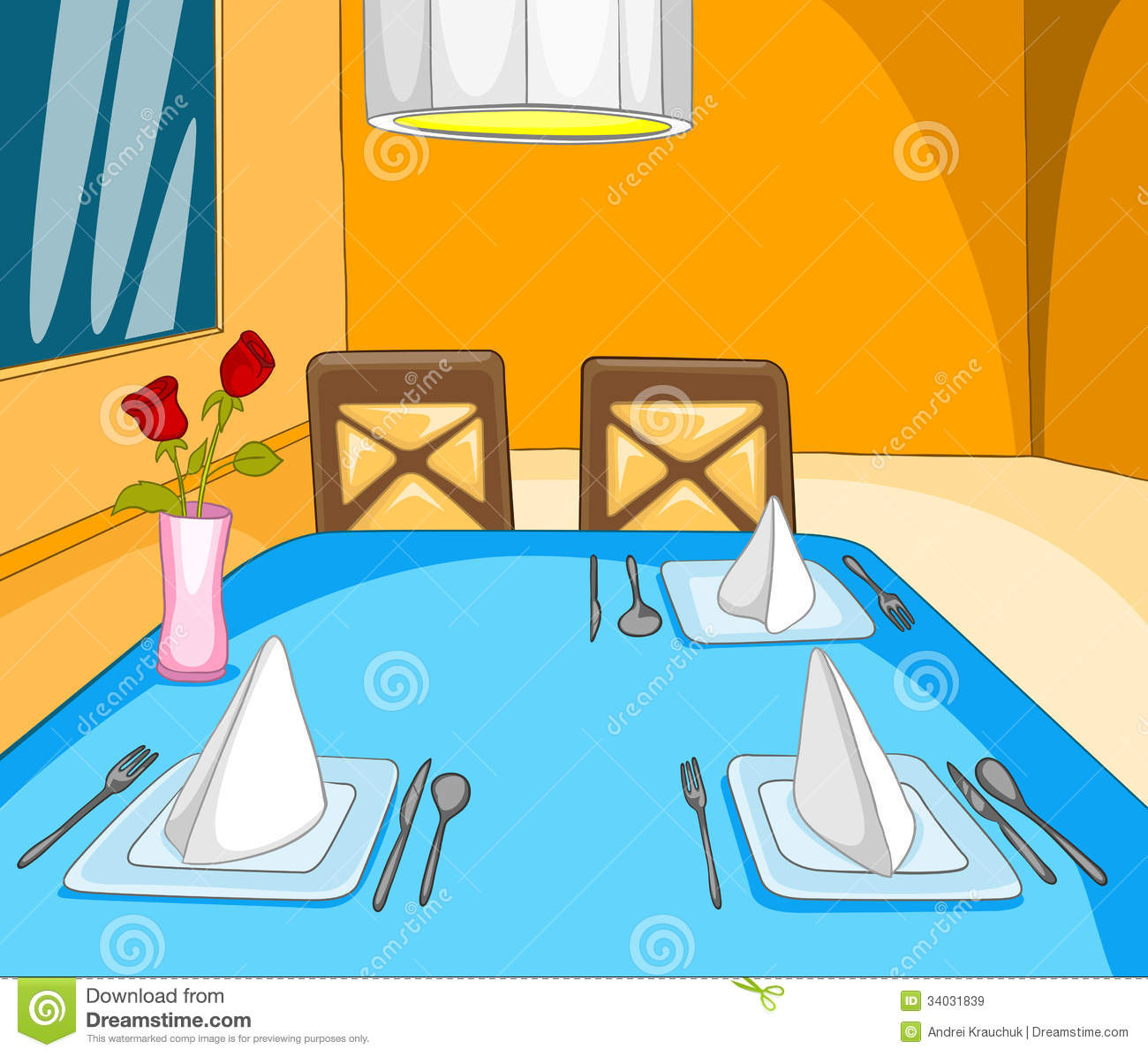 Restaurant stock vector image of dishware culture cafe
