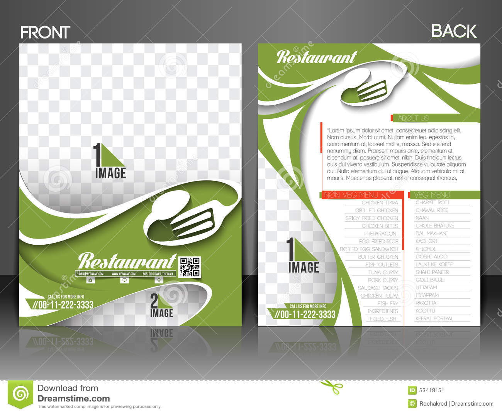 referral program flyer template
