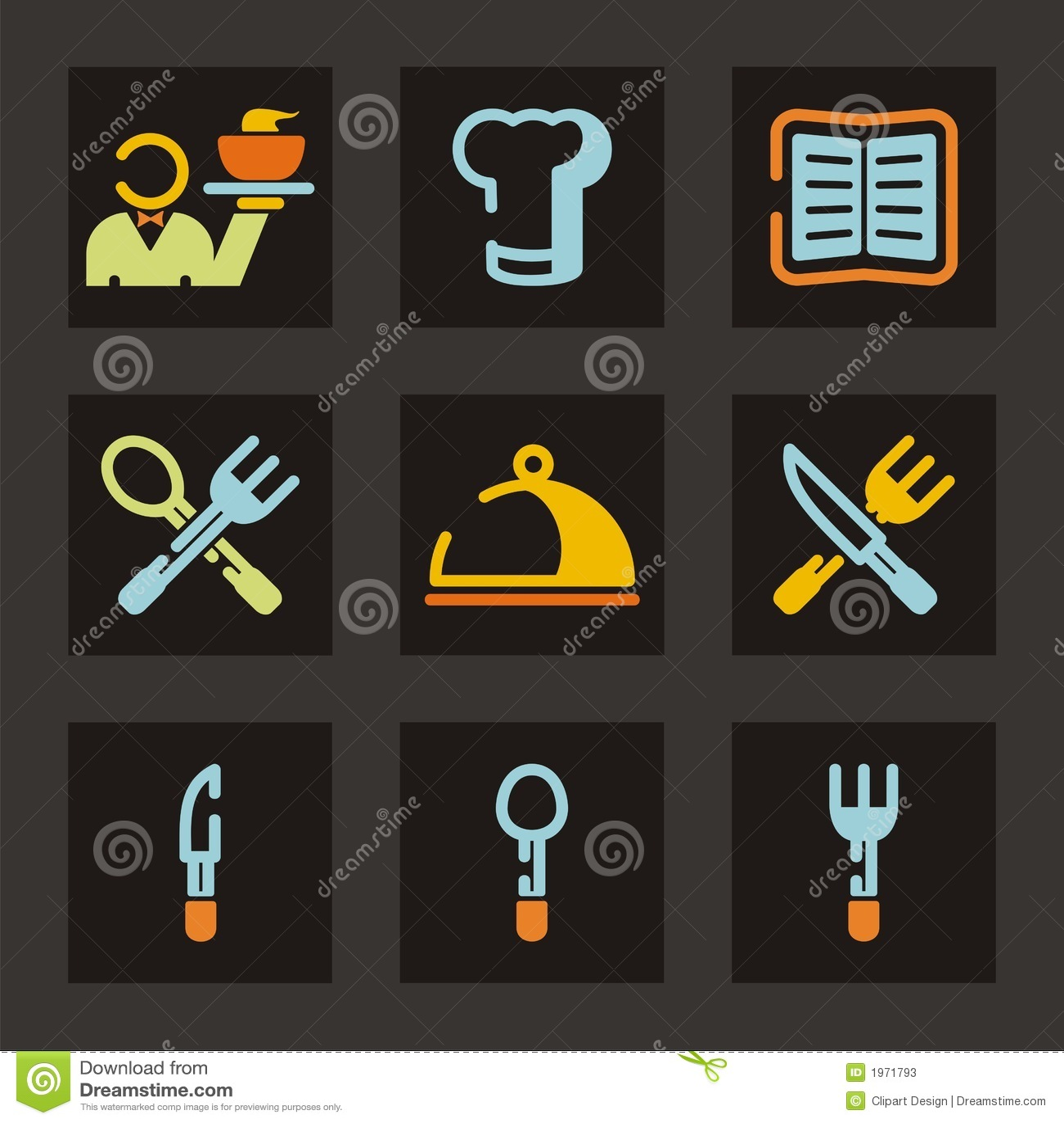 Restaurant Icon Series