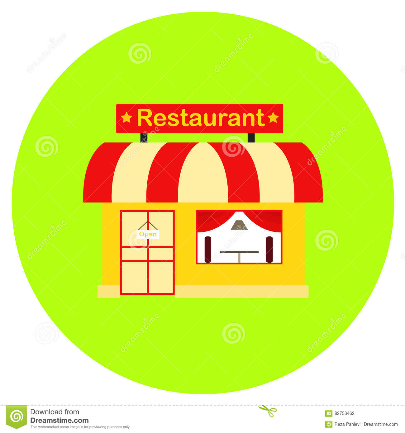 Restaurant icon in trendy flat style isolated on grey background restaurant icon in trendy flat style isolated on grey background building symbol for your design logo ui vector illustration biocorpaavc Image collections