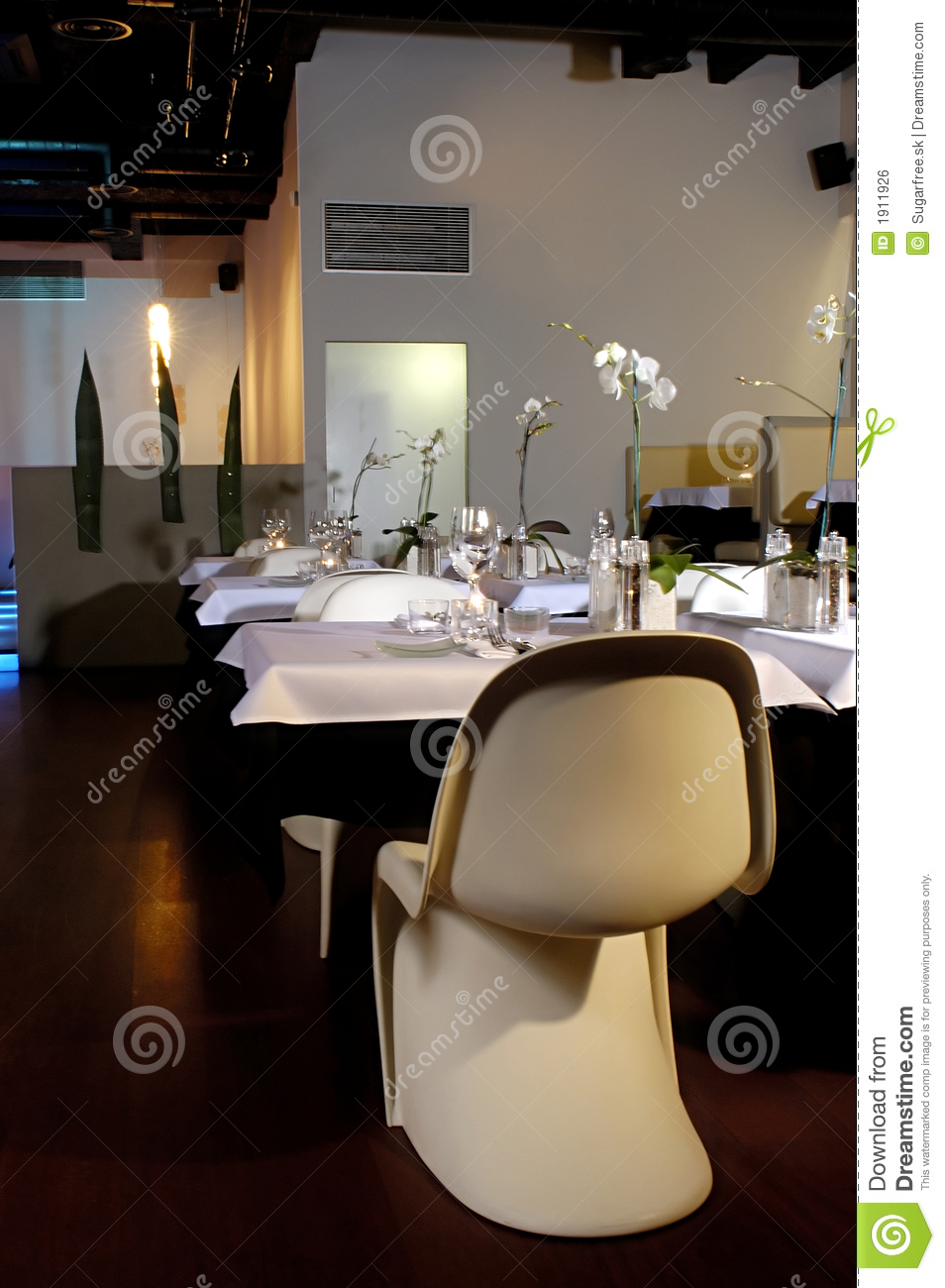 Restaurant interior royalty free stock image