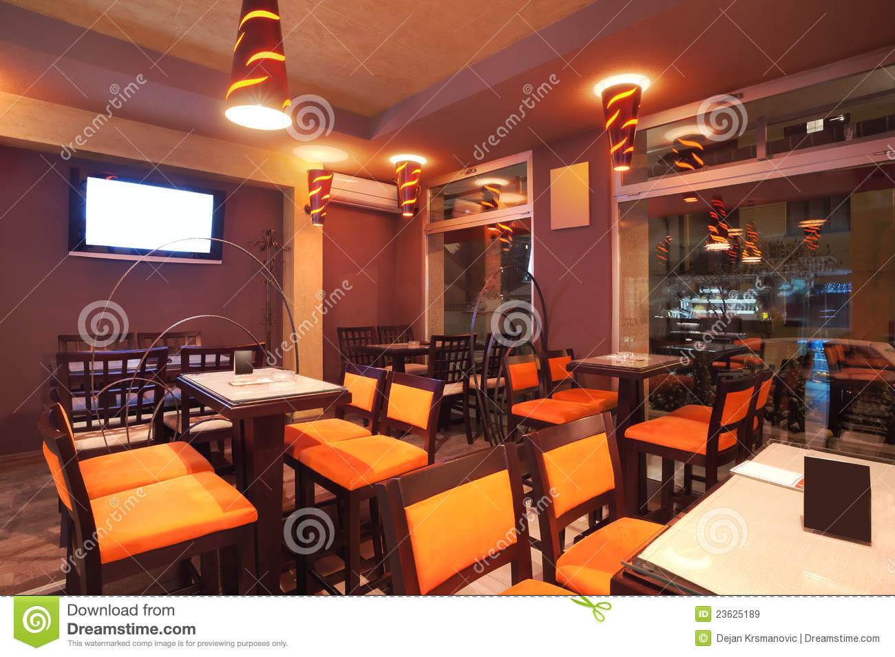 Restaurant Interior Royalty Free Stock Images Image 23625189