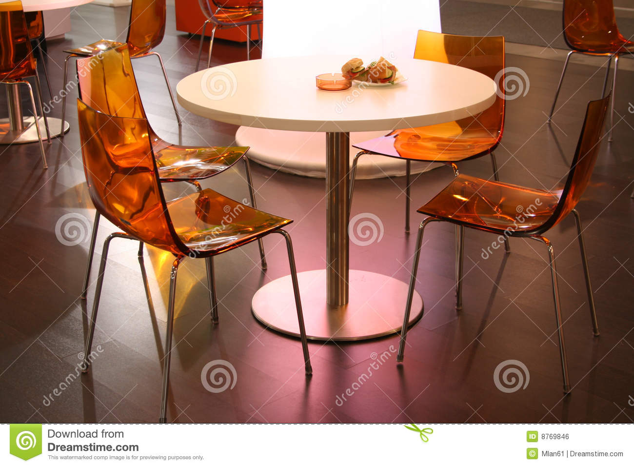 Restaurant Interior Royalty Free Stock Image Image 8769846
