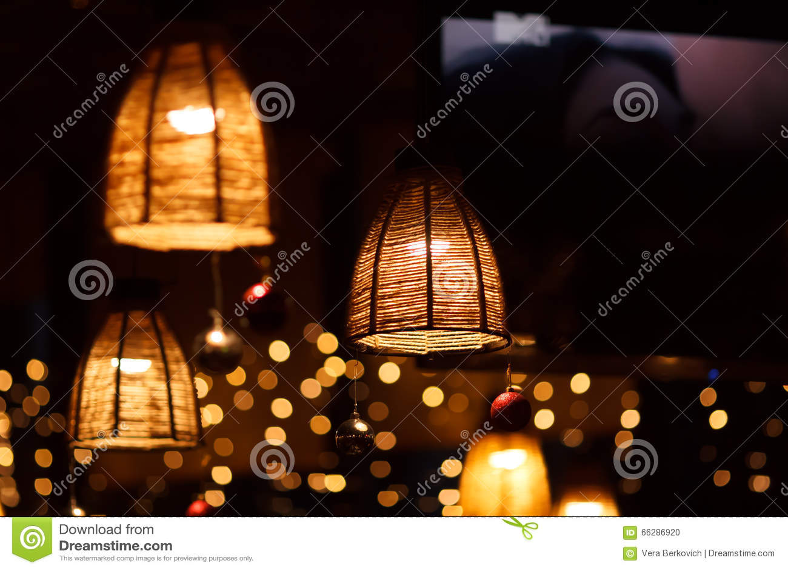 Restaurant interior at night stock photo image of depth
