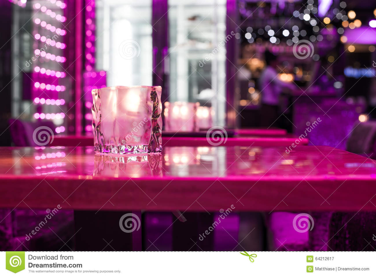 restaurant interior stock photo - image: 64212617