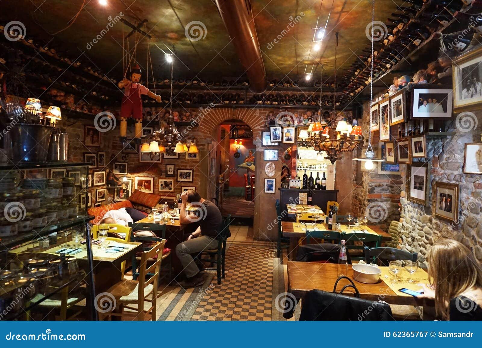 Restaurant italien typique, Florence